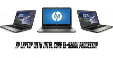 HP Laptop with Intel Core i5-5200U Processor